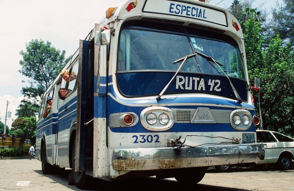 Les bus du Salvador