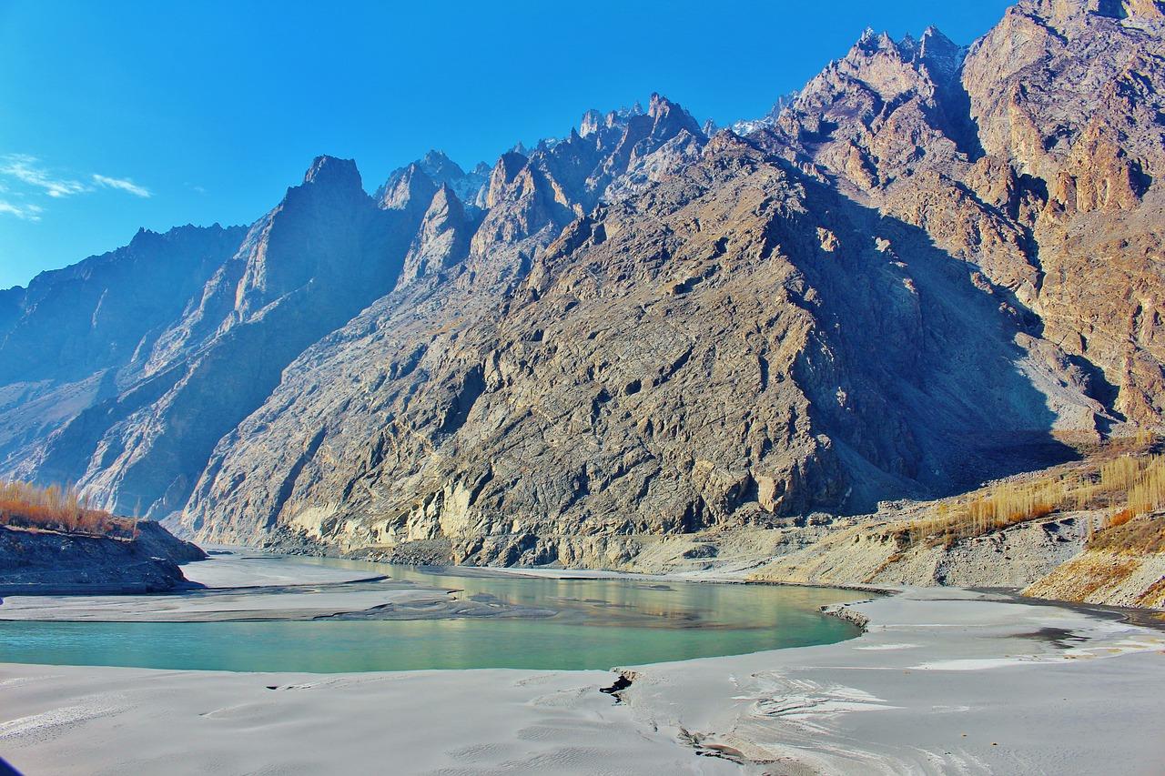 Paysage du Pakistan