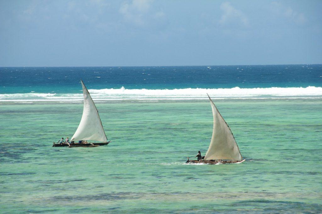 Zanzibar et le lagon