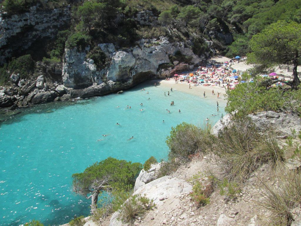 Les plages de Minorque