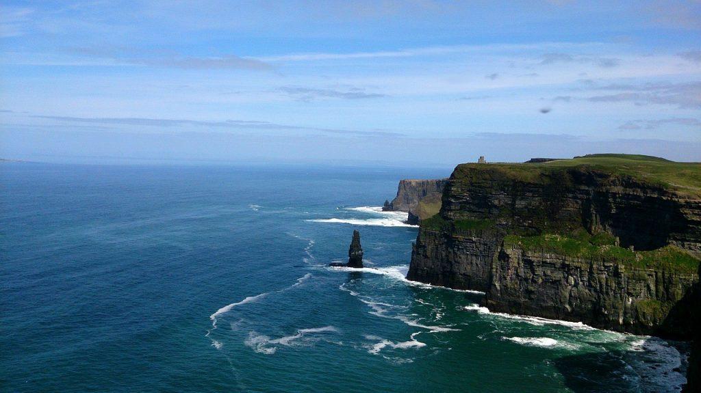 Irlande - Falaise - Galway