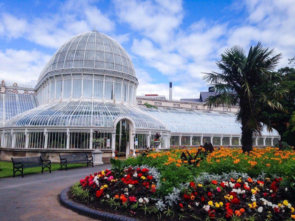 Irlande - Jardin bonatique Belfast