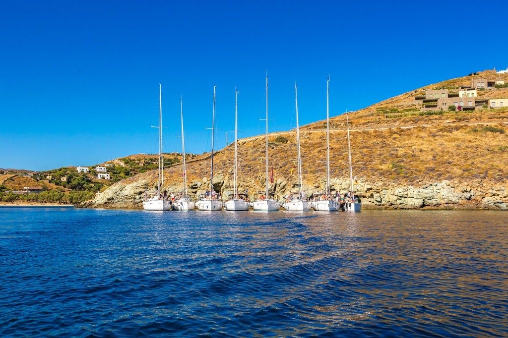 Voilier cyclades