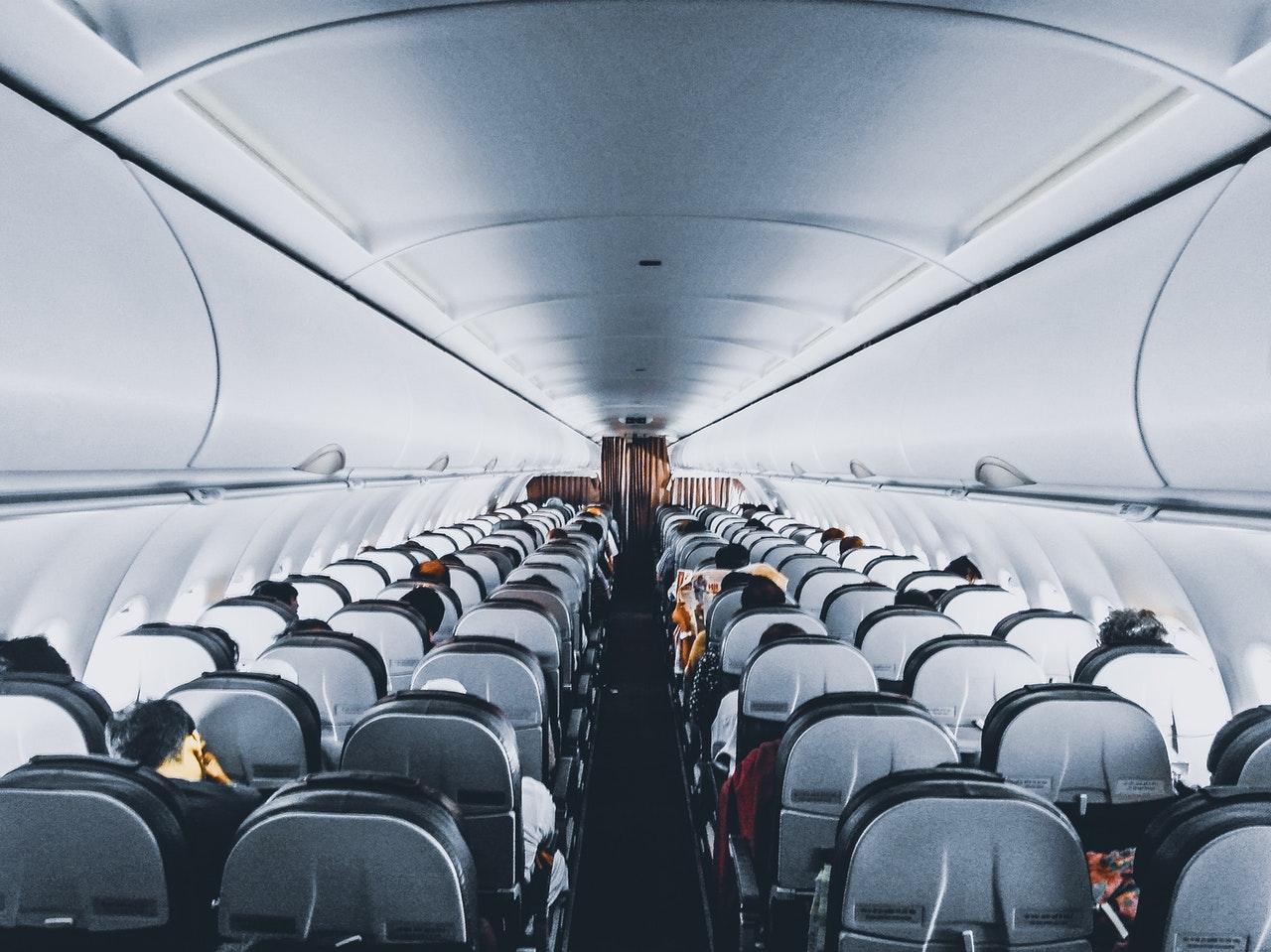 prendre l'avion