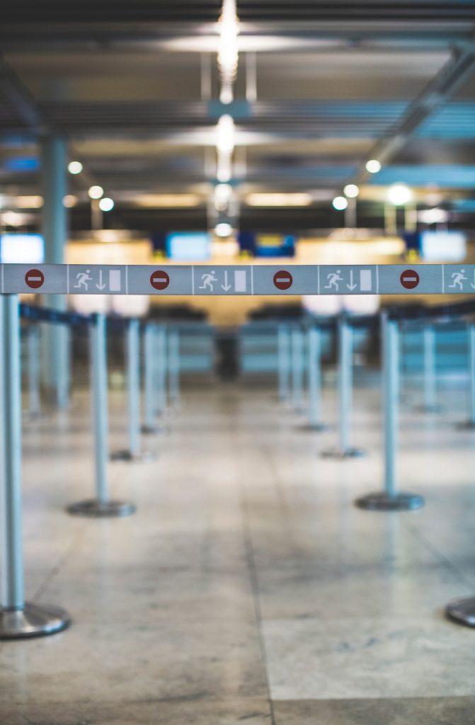 Aeroport vide covid 19