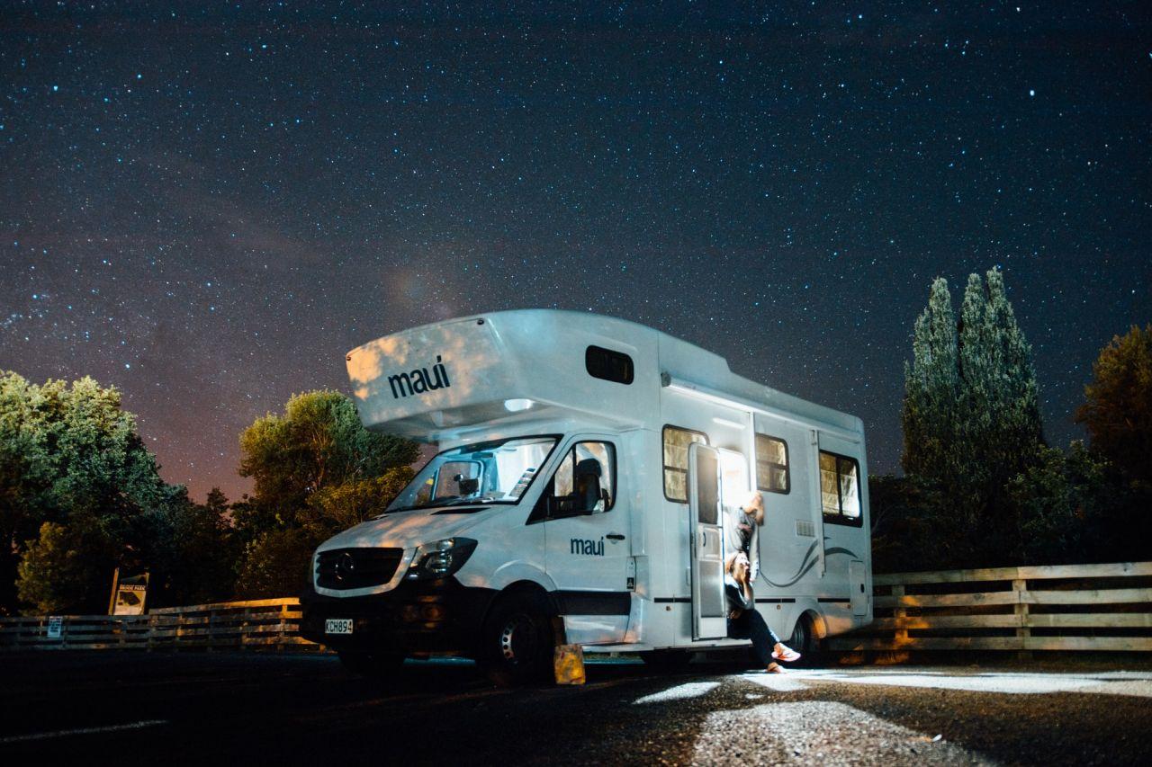 Nuit en camping car